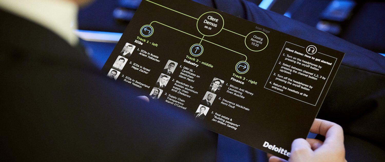 Deloitte Blockchain event eventbureau københavn