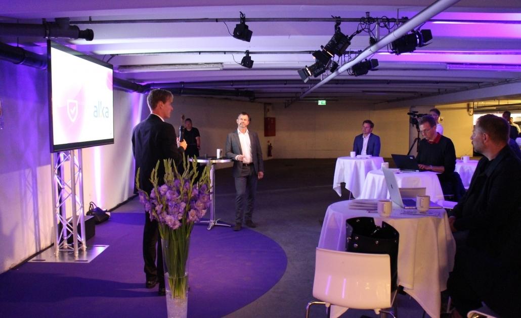 eventbureau københavn pressemøde kælder telia Sense