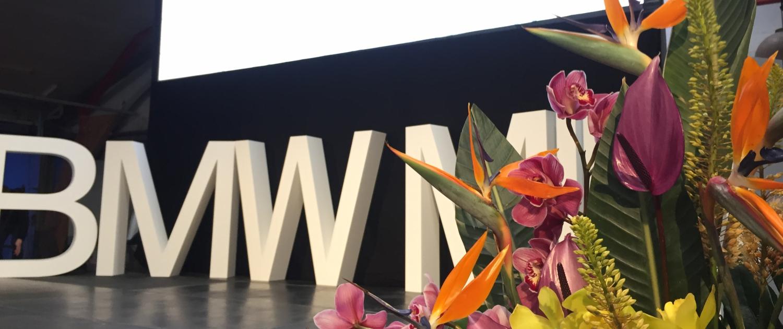 bmw kick off show eventbureau københavn scenestyling