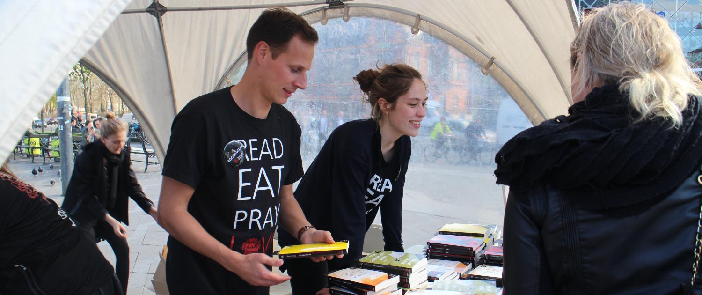 street promotion kultur litteratur event