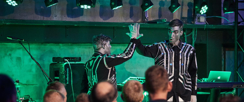 Robotdrengene show eventbureau københavn