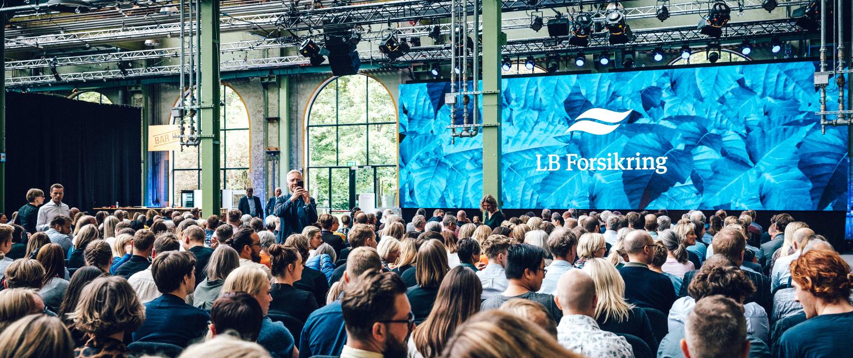 LB Forsikring eventbureau københavn