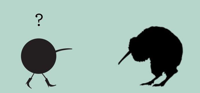Kiwi Birds logo eventbureau københavn